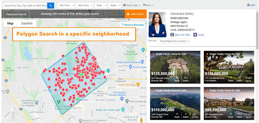 generate-real-estate-leads-online-interactive-map-search
